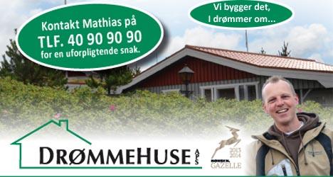 Drømmehuse flytter til Hadsund