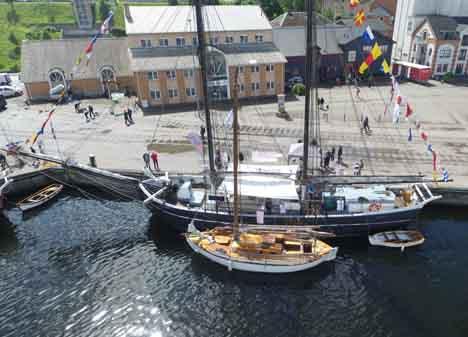 2017 bliver igen et maritimt år i havnene ved fjorden...
