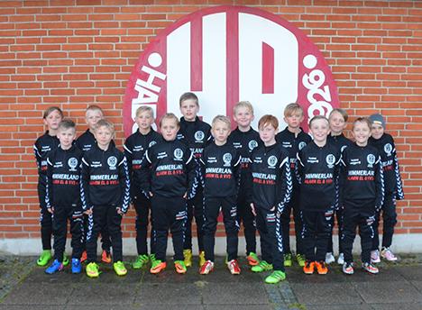HB U10 drenge i nye træningsdragter