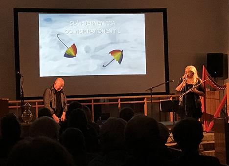 Dreamscapes koncert med Tine Lilholt og Klaus Thrane vakte stor begejstring