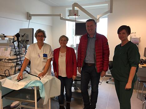 S-kandidater besøgte kirurgisk afdeling på Hobro Sygehus