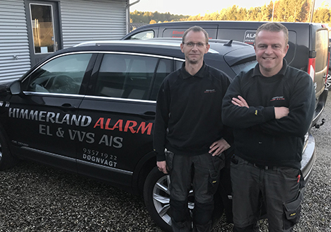 Nye ejere af Himmerland Alarm, El og VVS A/S i Hadsund