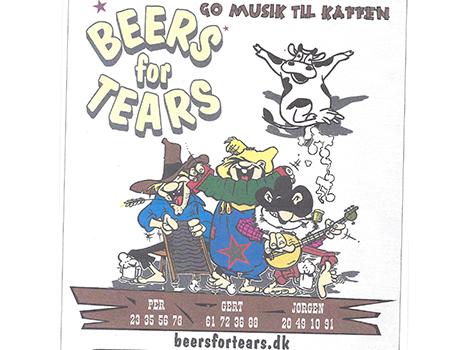 Beers for Tears spiller penge ind til Kræftens bekæmpelse