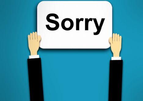 Vi undskylder vort fravær her til morgen