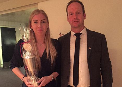 Ildsjæle modtog priser til Vikings afslutningsfest