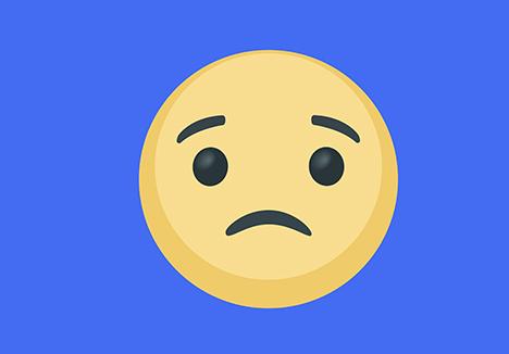 Interflora og Røde Kors kæmper for ensom emoji på Facebook