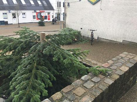 Hærværk mod julen i Hadsund