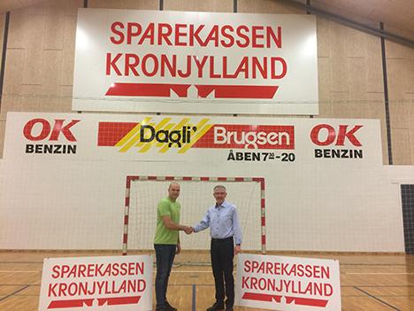 Sparkassen Kronjylland fortsætter som hovedsponsor i AIF - Assens.