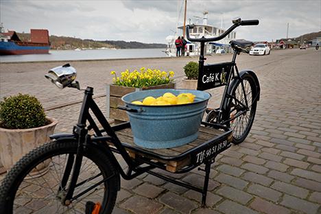 Foråret er nået til Hobro Havn.