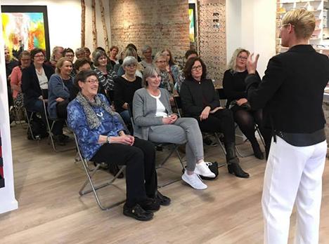Fantastisk opbakning til Line Baun Danielsens besøg i Hadsund
