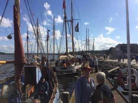 Træskibene ankommer til Hadsund