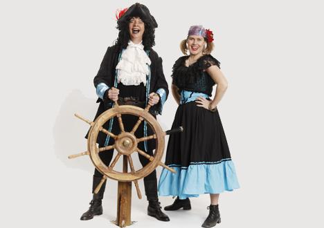 Palle Pirat kommer til Børnekulturugen på Mariager havn