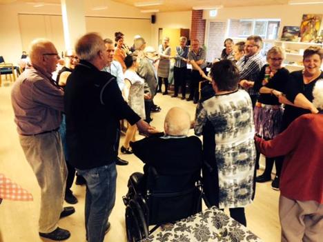 Fest og glade dage på Rørbæk ældrecenter