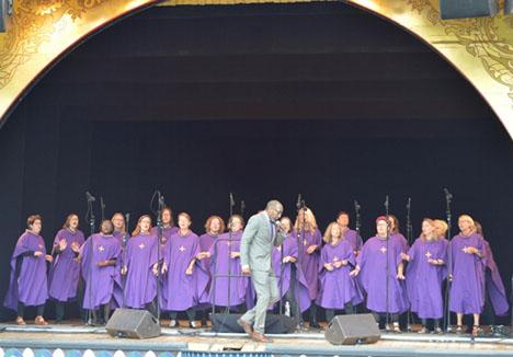 Gospelkoncert på Sødisbakke