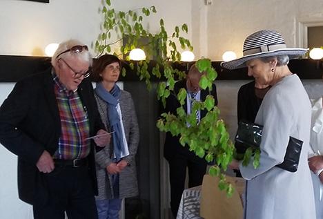 Prinsesse Benedikte besøgte RikkiTikki i Hadsund