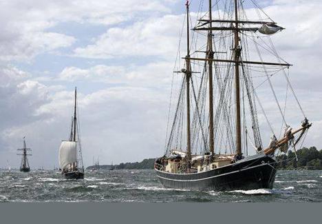 Tag på Als Odde og se skibene gå ind i fjorden