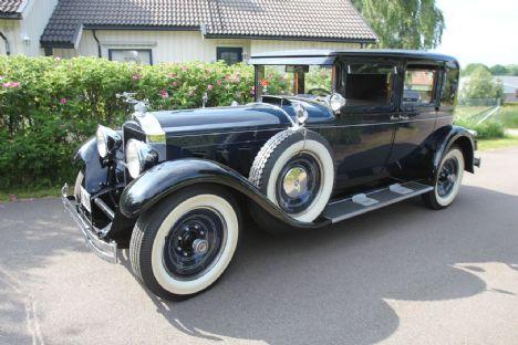 Packard 640 Club Sedan fra 1929 følges på auktion