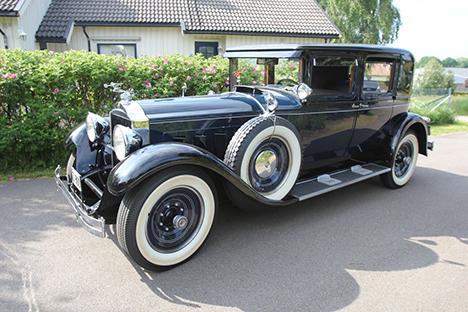 To unikke Packard-biler kommer under hammeren
