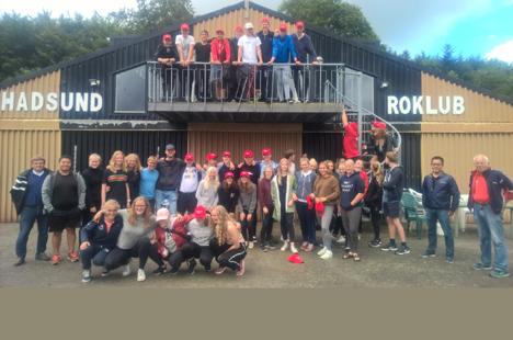 Roforbundets træningslejr for U17 gruppen afholdt