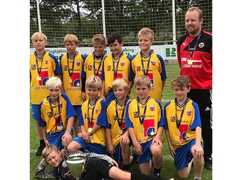 Hobro IKs U13 drenge sejrede til Vildbjerg Cup