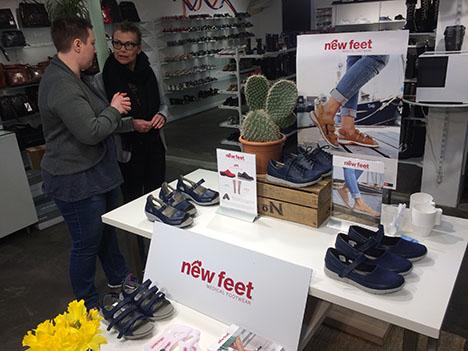 Fjordavisen.nu » New Feet demodag hos Rabøl sko