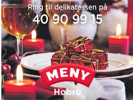 Bestil din julefrokost hos Meny i Hobro