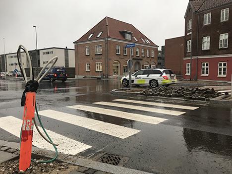 Nyt lys over trafikreguleringen på Hostrupvej i Hobro
