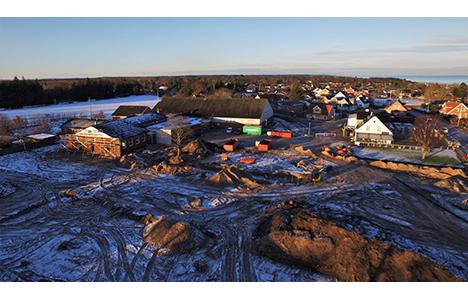 Lokalplan for området ved Multihuset i Øster Hurup endeligt vedtaget