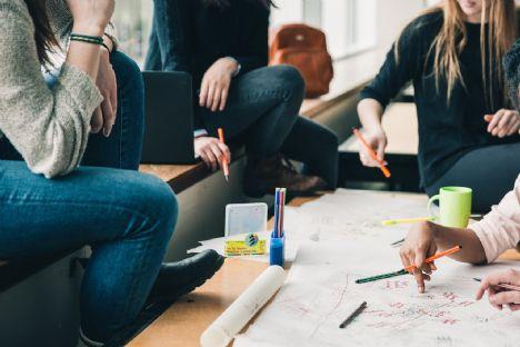 HTX-elever fra Mariagerfjord Gymnasium jagter stemmer i innovationskonkurrence