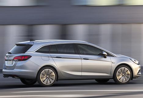 Privatleasing af Opel Astra med halv udbetaling