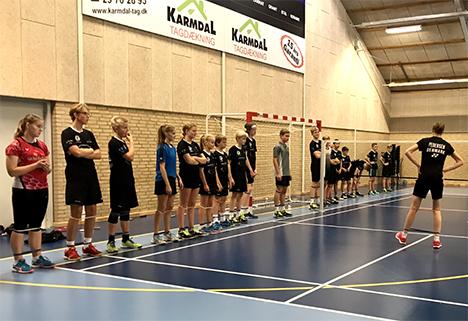 Kamilla Rytter Juhl og Christinna Pedersen gæstede Hadsund