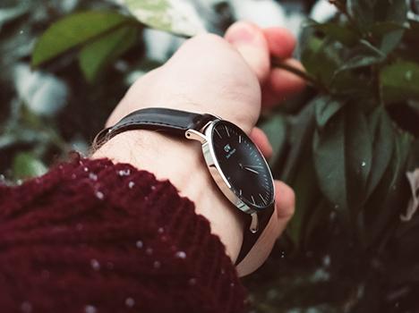 Et klassisk ur med personlighed