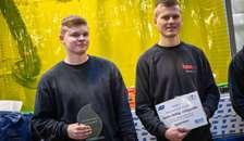 Rasmus Salling og Axel Lundorff blev vindere af regionsmesterskabet for Smede i 2018