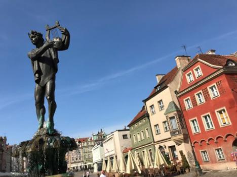 Store oplevelser på studietur til Polen