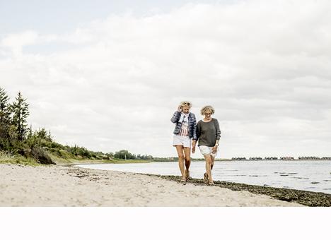 Øster Hurup Strandlaug får støtte til: Adgangsbro fra nuværende strand og til revle ved Haslevgaarde Strand