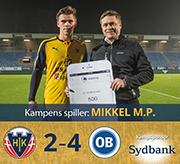Hobro IK ude af Sydbank Pokalen efter målfest