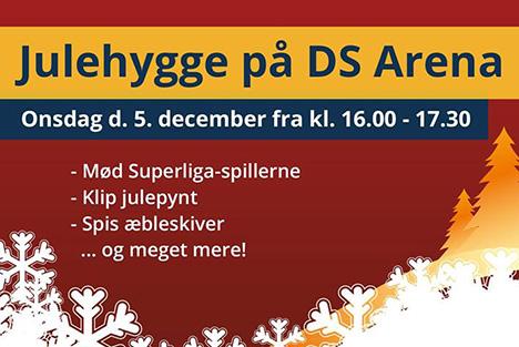 Kom til julehygge på DS Arena