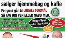 Bazar Skelund glæder sig til lørdag