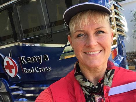 Birgitte Wilsted Simonsen: Håbet skal man altid holde fast i ... med Røde Kors i Kenya