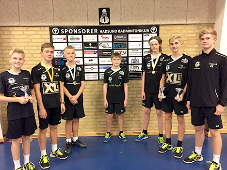 Udbytterig weekend for ungdomsspillere i Hadsund Badminton Klub