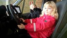 Terndrup Brandstation går i børneaktion