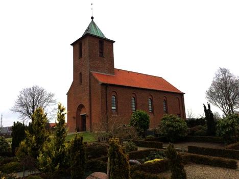 Lillejuleaften er der familiegudstjeneste i Arden Kirke