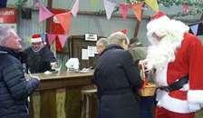 Bazar Skelund sluttede året af med julehygge
