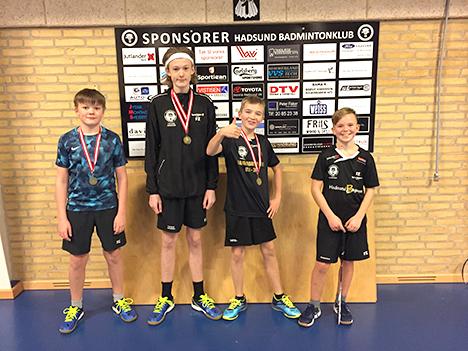 HBK-medaljer til Vestmesterskab Nordjylland