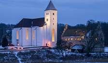 Julekoncert fra Mariager Kirke billetter blev revet væk | koncerten sendes i 4 afsnit på TV2Nord