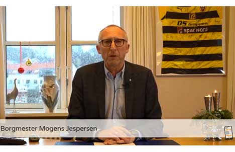 Borgmester Mogens Jespersens nytårshilsen 2018