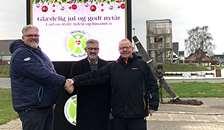 LAG Himmerland har givet tilskud til Pylonen i Øster Hurup