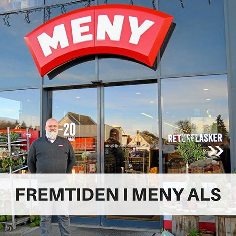 Michael Rosengren bliver ny købmand i MENY Als