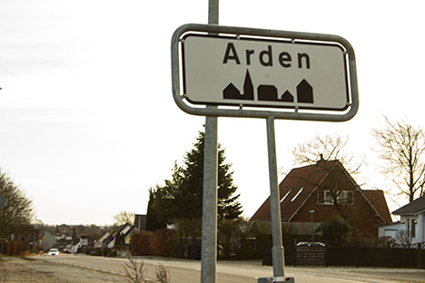 .Arden – en by i Mariagerfjord
