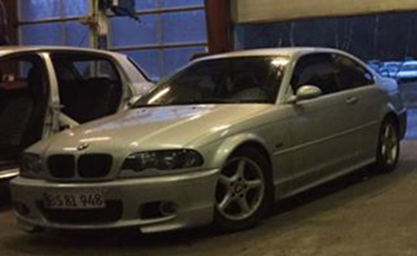 BMW type3 Coupé forsvundet